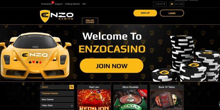 Enzo Casino - machines à sous gratuites
